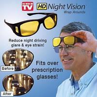 Очки для водителей Антифары HD Vision - водительские очки антибликовые