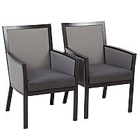 Набор стульев George Home Grace Dining Chairs in Charcoal & Grey - Pack of 2