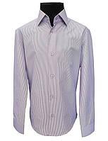 Рубашка детская в полоску №12 - 7334 V4