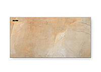 ИК экономичный керамический обогреватель Теплокерамик ТСМ 450 Вт бежевый мрамор 49202