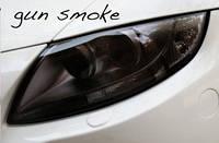 Черная тонировочная пленка для оптики авто Vissbon