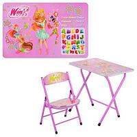 Детская парта DT 19-15 – столик со стульчиком Winx