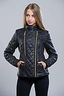 Куртка осенняя черная №11 WW 42-48 размеры
