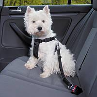 Тrixie Car Harness М автомобильная шлейка с ремнем безопасности 50-70см