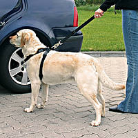 Тrixie Car Harness ХL автомобильная шлейка с ремнем безопасности 80-110см