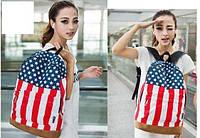 """Модный  Классный Рюкзак """"Флаг USA""""  высококачественный ,фабричный!"""
