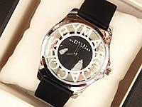 Женские (Мужские) кварцевые наручные часы Marc Jacobs на кожаном ремешке