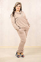 Женский модный спортивный костюм больших размеров (рр 48-72+), разные цвета