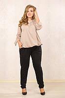 Стильные женские брюки больших размеров (рр 48-72+)