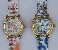 Женские часы с цветочками 2015