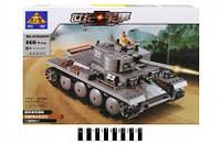 Конструктор Военная техника Танк 868 деталей