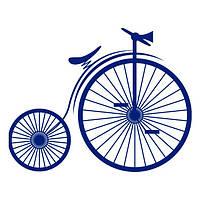 Виниловая наклейка на стену Ретро-Велосипед