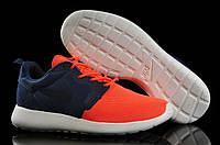 Кроссовки Nike Roshe Run Hyperfuse Blue Red