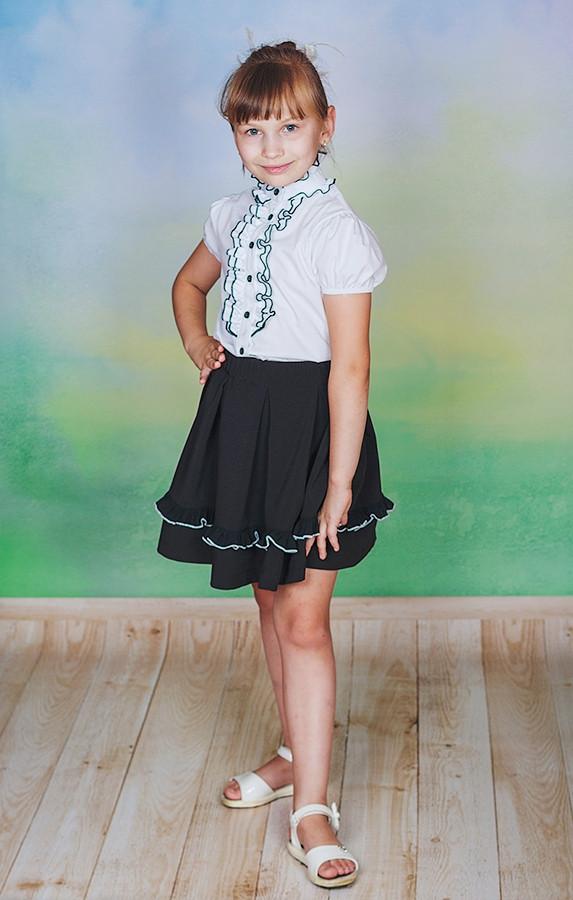 Блузки для девочек в школу цена