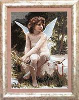 Набор для вышивки крестом По мотивам У. Бугро Подстерегающая любовь №580