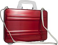Оригинальный женский алюминиевый кейс EXPRESSIONS Zero Halliburton SLA-RD красный