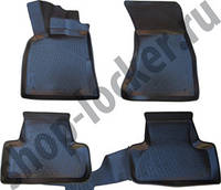 3D Коврики в салон Audi Q5 (08-12) (полимерные) L.Locker
