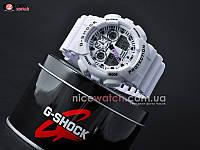 Часы мужские Casio G-Shock GA-100 White