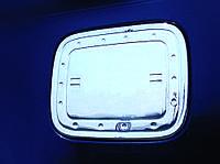 Накладка на лючок бензобака Volkswagen Caddy 2004-2010 г.в. нержавейка