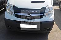 Дефлектор капота (мухобойка) короткая Opel vivaro (опель виваро 2001+)