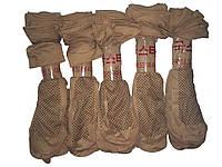 Носки женские капрон бежевые с тормозами