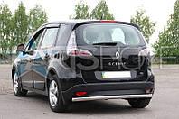 Защита на задний бампер труба Renault Scenic с 2009 г.в.