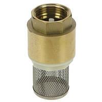 Клапан обратный с фильтром грубой очистки, 1'' BSP, Adam Pumps