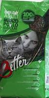 Корм Better (Беттер) для котов Говядина и курица с овощами 20 кг