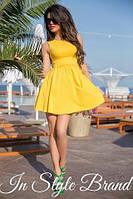 """Красивое летнее платье в стиле """"Бэби долл"""""""