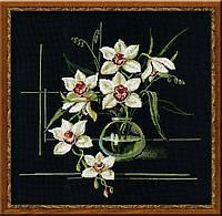 """Набор для вышивания """"Белая орхидея"""""""