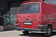Защита на задний бампер Углы одинарные VW Transporter T4