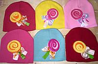 Детские осенние шапочки