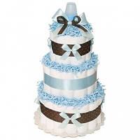 Торт из подгузников Blue Chocolate Синий Шоколад