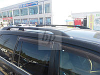 """Рейлинги """"оригинал"""" черные Toyota land cruiser 120 Prado (тойота ленд крузер прадо 2002-2009)"""