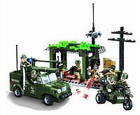 Конструктор Brick 809 Военная база