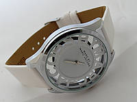 Женские часы  Marc by Marc Jacobs - цвет серебро, прозрачные, белые