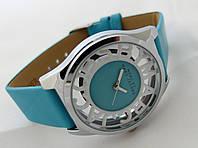 Женские часы  Marc by Marc Jacobs - цвет серебро, прозрачные, голубые