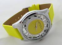 Женские часы  Marc by Marc Jacobs - цвет серебро, прозрачные, желтые