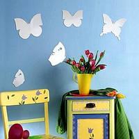 Зеркало оригинальное Бабочки комплект из 5 штук