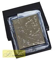 Портсигар классический в подарочной коробке 4375-1