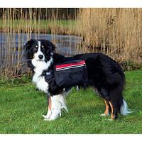 Тrixie Backpack for Dogs L шлейка-рюкзак для собаки 28х18см