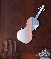 Зеркало оригинальное Скрипка 40см х 15см