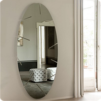 Зеркало оригинальное Страйп овал 30см х 60см