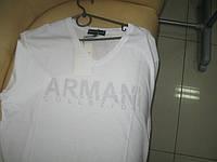 Мужская футболка белая XXXL