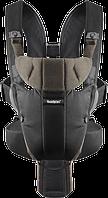 Рюкзак-кенгуру BabyBjorn Carrier Miracle Black/Brown, organic