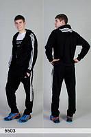 Теплый мужской спортивный костюм Адидас 44-58 р.