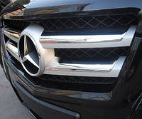 Mercedes GLK X204 X 204 хром накладки на решетку радиатора