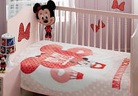 Детский плед 100х120  DISNEY TAC  MINNIE BALLON BABY