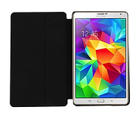 [ Samsung Galaxy Tab S 8.4 ] Чехол-книжка для планшета Самсунг черный
