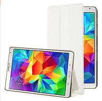 [ Samsung Galaxy Tab S 8.4 ] Чехол-книжка для планшета Самсунг белый